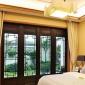 上海 中式仿古�X合金�T窗 古建筑四合院仿古�X合金�T窗定制 做工精� 美�^大方